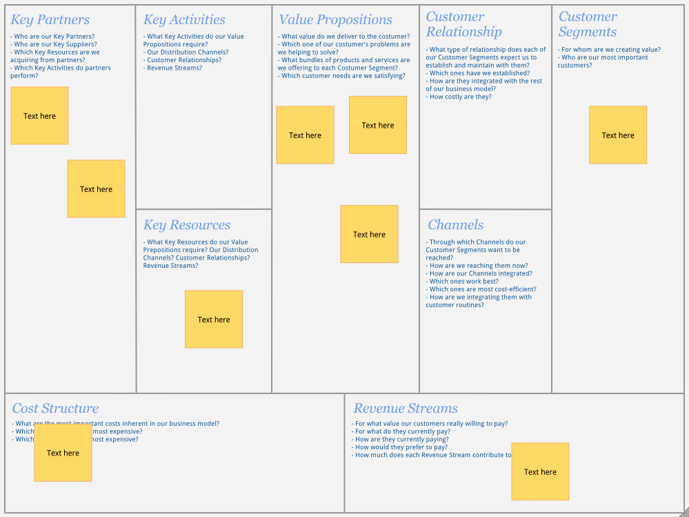 Business model canvas template for google docs dotsshadows bmcanvas template flashek Image collections