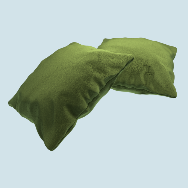 Velvet cushion / Free model download