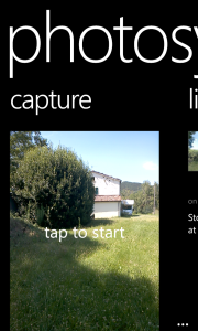 Start taking photos with Photosynth