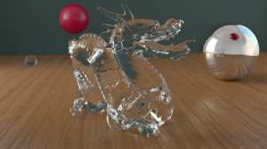 Cycles renderer test scene